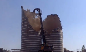 Silo Plant Demolition Mumbai  House Factory Demolition India